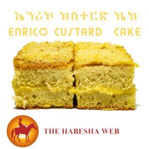 Enrico Custard Cake