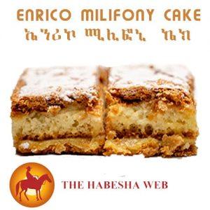 Enrico Milifony Cake