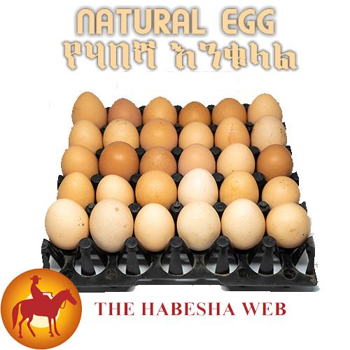 Natural habesha eggs