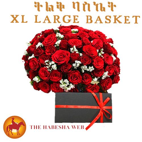 Basket Fresh Flowers