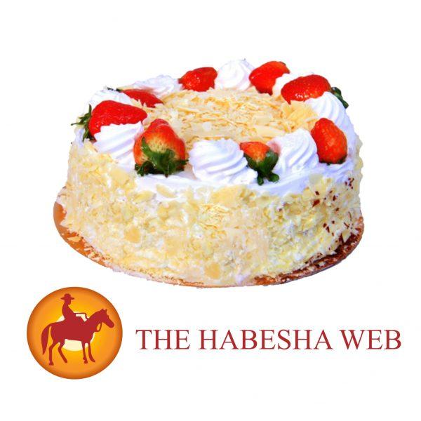 Sheraton White Forest Cake